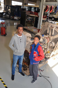 Junior Jeremy Paige is learning to become an aircraft mechanic, while senior Summer Abram plans to use the skills she learned in high school as a diesel mechanic to pay her way through school as she becomes a psychologist.