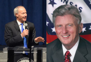 Govs. Asa Hutchinson and Mike Beebe